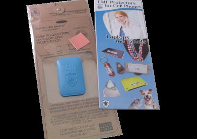 Vortex Bio Shield EMF Protector for Smartphones (White) - Quantum EMF Protectors