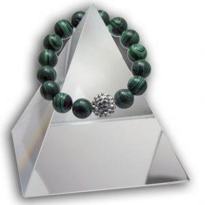 131 New Product - EMF Harmonizing Bracelet Malachite Green - Quantum EMF Protectors