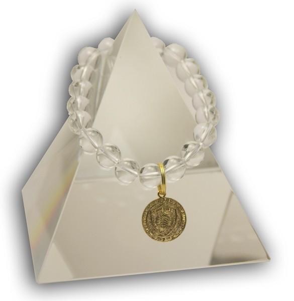 75 Clear GLOBE Swarovski Crystal Bracelet Quantum EMF BioShield Quantum Protector - Quantum EMF Protectors