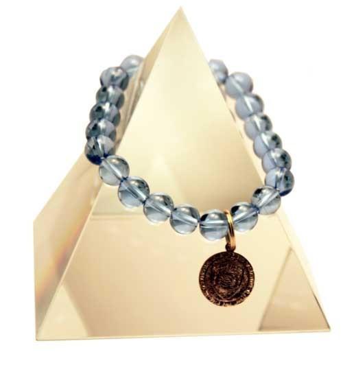 Quantum EMF Protection Jewelry/EMF Protection Bracelets Blue GLOBE - Quantum EMF Protectors